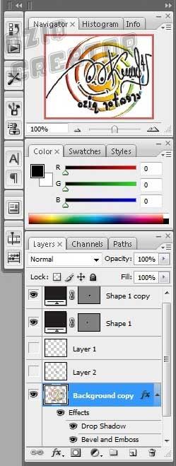 Pallate Photoshop