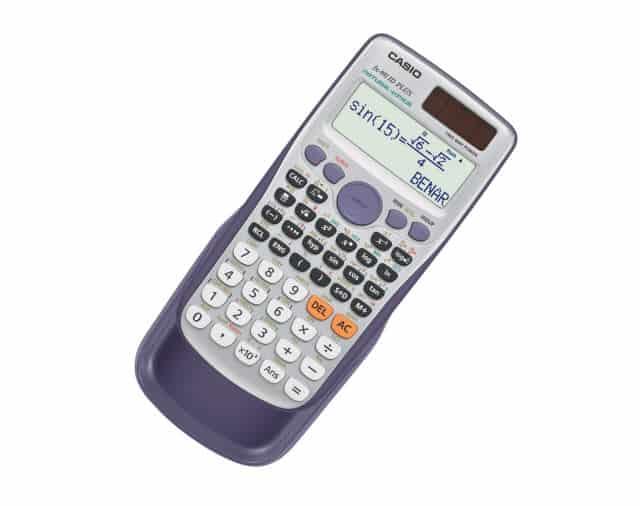 Kalkulator Casio untuk Pelajar Sekolah dan Mahasiswa