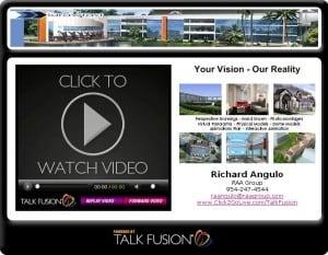 talk fusion e-mail video marketing confrence blast