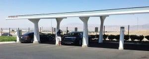 Stasiun pengisian mobil listrik tesla