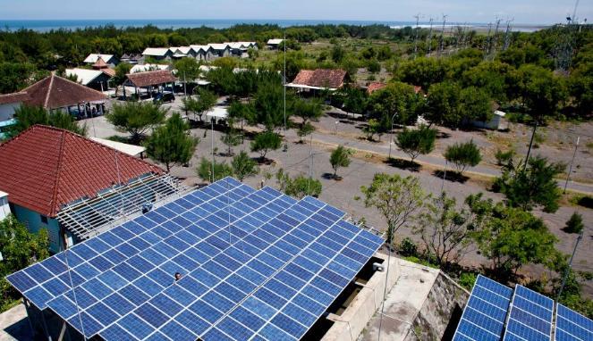 apa itu pembangkit listrik tenaga surya