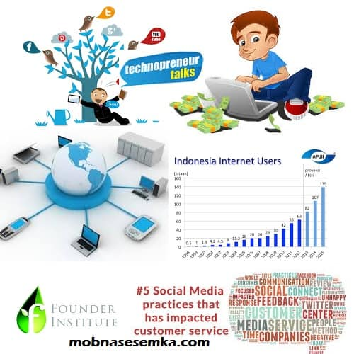 penggunaan sosial media