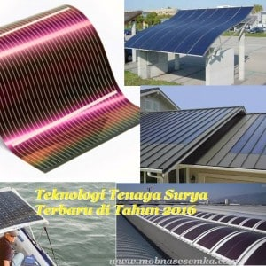 teknologi tenaga surya terbaru 2016