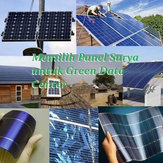 Memilih Panel Surya untuk Green Data Center