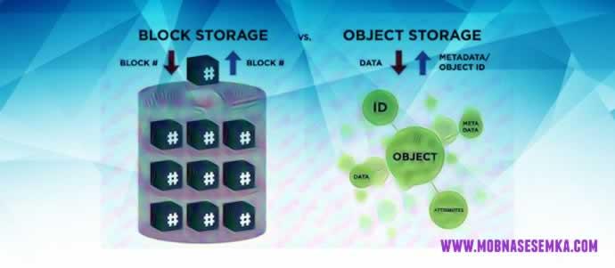 Arti Object Storage dan Perbedaannya Dengan Block Storage