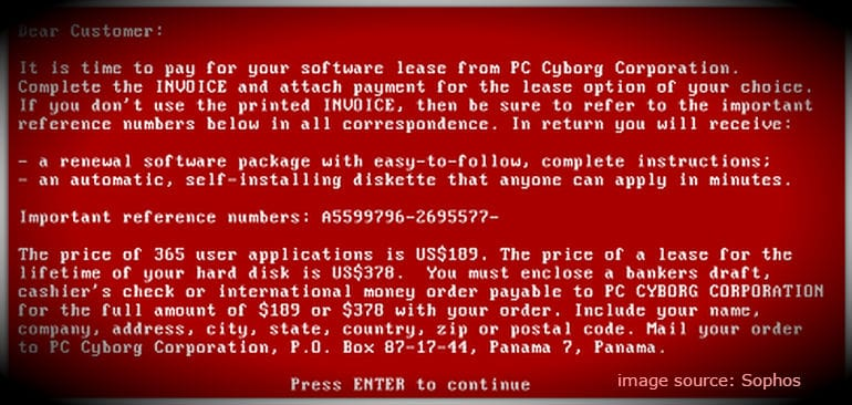 Peringatan Palsu virus Ransomware Wanna Cry