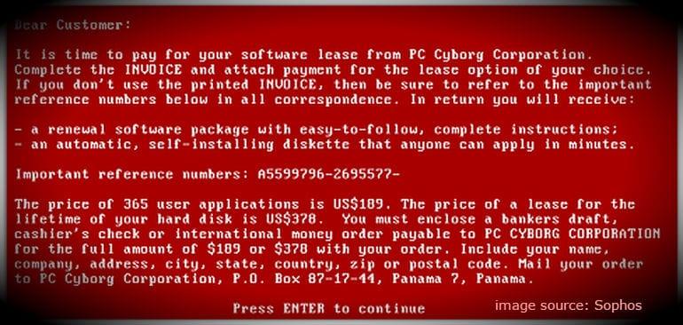 Peringatan Palsu virus Ransomware Wanna Cry