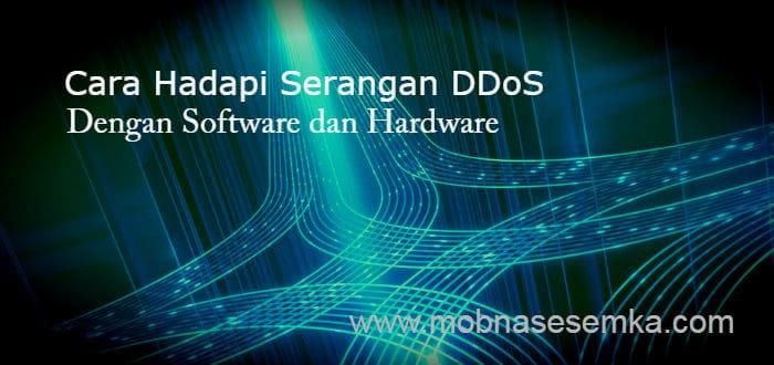 Cara Hadapi Serangan DDoS Dengan Software dan Hardware