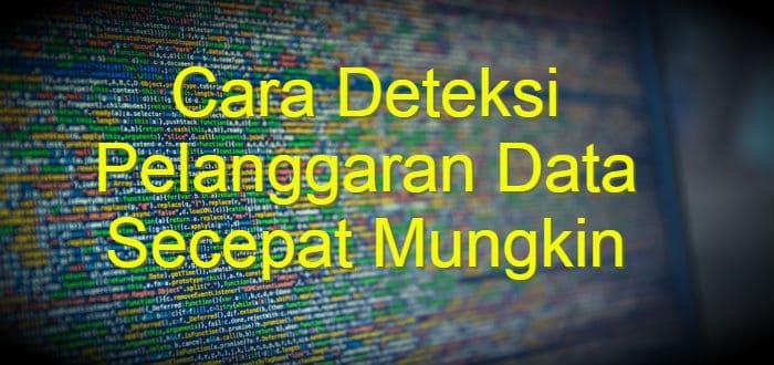 Cara Deteksi Pelanggaran Data Secepat Mungkin