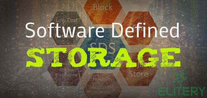 apa itu software defined storage