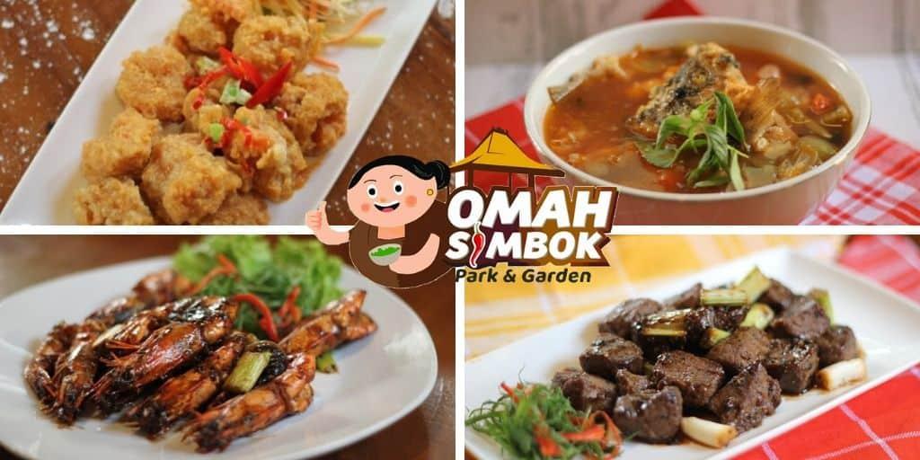 Menu Omah Simbok Resto