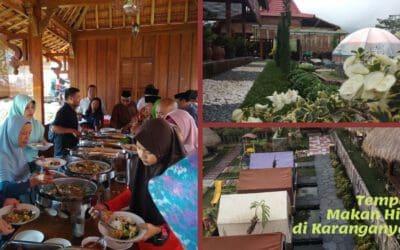 Tempat Makan Hits di Karang Anyar yang Sangat Instagrammable