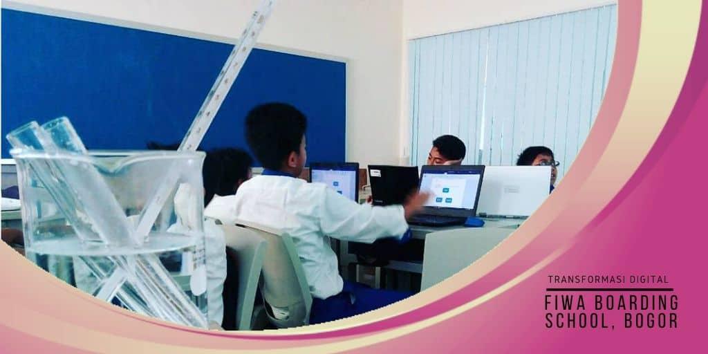 transformasi digital di FIWA boarding school Bogor
