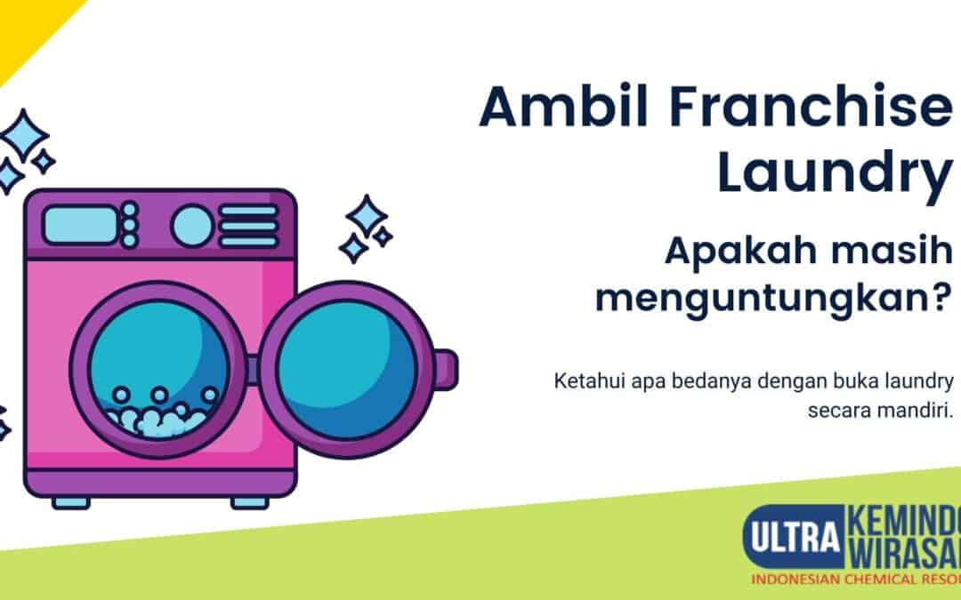 buka usaha laundry pakai sitem franchise